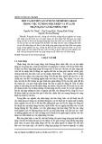 Một cách tiếp cận sử dụng mô hình n-gram trong việc tự động phát hiện và sửa lỗi nhận dạng văn bản tiếng Việt