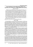 Một mô hình giải tích mới đánh giá hiệu năng IEEE 802.15.4 MAC cho mạng cảm biến không dây đa bước