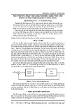 Một phương pháp thực hiện bộ điều khiển mờ cho động cơ một chiều kích từ song song
