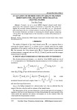 Evaluation of method using invariant transmit dimensions for a realistic mimo diagonal channel matrix