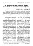 Một số giải pháp bảo tồn và phát huy giá trị dân ca trong cưới hỏi của dân tộc Sán Dìu giai đoạn hiện nay