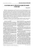 Cơ sở khoa học và tiêu chí xác định tộc người ở Việt Nam