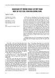 Luận bàn về trống Ngọc Lũ Việt Nam một di vật của văn hóa Đông Sơn