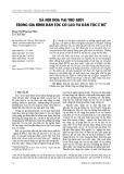 Xã hội hóa vai trò giới trong gia đình dân tộc Cờ Lao và dân tộc Ê Đê