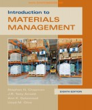 Materials management - Introduction (Eighth edition): Part 1