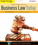The essentials text & summarized cases in business law today (11th edition): Part 1
