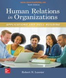 Applications and skill building of human relations in organizations (Tenth edition): Part 2