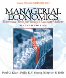 Economic tools for today's decision makers with managerial economics (Seventh edition): Part 1