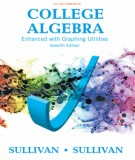 Enhanced with graphing utilities in college algebra (Seventh edition): Part 1