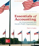 Accounting in governmental and not-for-profit organizations (Thirteenth edition): Part 1
