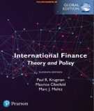 Theory and policy of international finance (Eleventh edition): Part 1