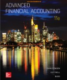 Financial accounting advanced (Eleventh edition): Part 1