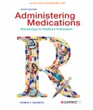 Strategy administering medications for healthcare professionals pharmacology (Eighth edition): Part 1