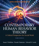 Critical perspective for social work with contemporary human behavior theory (Third edition): Part 2