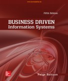 Information systems in business driven (Fifth edition): Part 1