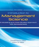 Modeling and case studies approach with spreadsheets in management science (Fifth edition): Part 2