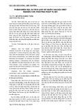 Thành Điện Hải, di tích lịch sử quốc gia đặc biệt nghiên cứu phương pháp tu bổ