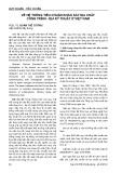 Về hệ thống tiêu chuẩn khảo sát địa chất công trình - địa kỹ thuật ở Việt Nam