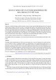 Quản lý đóng góp và sử dụng kinh phí bảo trì nhà chung cư ở Việt Nam
