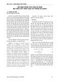 Mô hình phân tích ứng xử dầm bê tông cốt thép chịu tải trọng sử dụng