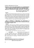 Nghiên cứu tính kháng Metronidazol và Clarithromycin của vi khuẩn Helicobacter pylori trên bệnh nhân viêm dạ dày đến nội soi tại Bệnh viện Quân y 103 năm 2018