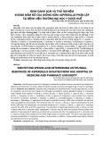 Định danh loài và thử nghiệm kháng nấm đồ của giống nấm Aspergillus phân lập tại bệnh viện trường Đại học Y dược Huế