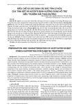Điều chế và xác định các đặc tính lý hóa của tinh bột mì acetate định hướng dùng hỗ trợ điều trị bệnh đái tháo đường
