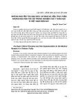 Những nguyên tắc đạo đức cơ bản và việc thực hiện những nguyên tắc đó trong nghiên cứu y sinh học ở Việt Nam hiện nay