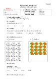 18 đề ôn kiểm tra giữa học kì 1 môn Toán lớp 3