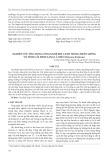 Nghiên cứu ứng dụng công nghệ khí canh trong nhân giống vô tính cây đinh lăng lá nhỏ (Polyscias fruticosa)