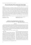 Nghiên cứu đặc điểm sinh học và định danh chủng nấm gây bệnh mốc vàng trên nấm linh chi