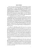 Báo cáo nghiên cứu khoa học: Ảnh hưởng của các mức độ bổ sung mỡ cá Tra (Tra fish oil) trong khẩu phần lên năng suất và chất lượng thịt gà Sao (Guinea Fowl) nuôi bán chăn thả tại huyện Châu Thành, tỉnh Trà Vinh