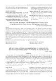 Kết quả khảo sát thời gian sinh trưởng và năng suất của tập đoàn đậu cowpea trong vụ Xuân tại Thanh Trì, Hà Nội