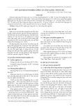 Kết quả khảo nghiệm giống lúa BT6 tại Bắc Trung Bộ