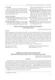 Nghiên cứu tinh sạch Anthocyanin bằng phương pháp sắc ký cột từ củ khoai lang tím