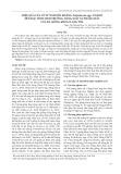 Hiệu quả của xử lý nấm đối kháng Trichoderma spp. và kẽm đến đặc tính sinh trưởng, năng suất và phẩm chất của ba giống khoai lang tím