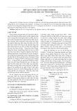 Kết quả chọn tạo và khảo nghiệm giống sắn HL-S10 cho các tỉnh phía Nam