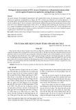 Tối ưu hóa điều kiện tự phân tế bào nấm men bia thải