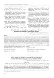 Hiện trạng kỹ thuật và tài chính của mô hình nuôi lươn đồng (Monopterus albus) thương phẩm
