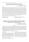 Nghiên cứu ảnh hưởng của thời điểm gieo đến sinh trưởng, phát triển và năng suất của hai giống đậu xanh ĐX14 và ĐXVN7 trong vụ Đông tại Thanh Trì - Hà Nội