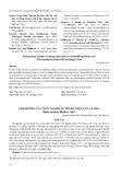 Ảnh hưởng của thức ăn đến sự thành thục của cá heo (Botia modesta Bleeker, 1865)