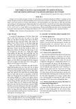 Thu nhận N-acetyl-Glucosamine từ chitin sử dụng enzyme endochitinase và β-hexosamindase tái tổ hợp