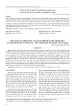 Hiệu quả của phân hữu cơ và kali đến rửa mặn trong đất và năng suất lúa ở vùng lúa - tôm tại huyện Mỹ Xuyên - Sóc Trăng