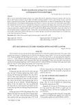 Kết quả đánh giá và khảo nghiệm giống ngô nếp lai NT98