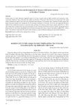 Nghiên cứu tuyển chọn và phát triển giống tía tô xanh của Hàn Quốc tại miền Bắc Việt Nam