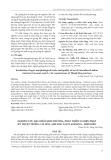 Nghiên cứu đặc điểm sinh trưởng, phát triển và biện pháp kỹ thuật trồng cây hoa anh đào tại Pá Khoang - Điện Biên