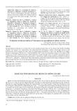 Đánh giá tính kháng sâu, bệnh của giống lúa KR1