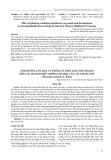 Ảnh hưởng của mùa vụ trồng và thời gian thu hoạch đến các thành phần chống oxy hóa của cây thuốc dòi (Pouzolzia zeylanica L. Benn)