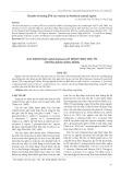 Xác định nấm Colletotrichum gây bệnh thán thư ớt ở đồng bằng sông Hồng