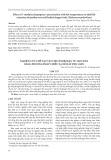 Nghiên cứu chế tạo vật liệu hydrogel từ mụn dừa bằng phương pháp chiếu xạ để hấp phụ asen